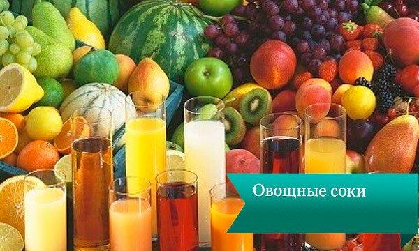 ovoshnie soki Напитки для похудания